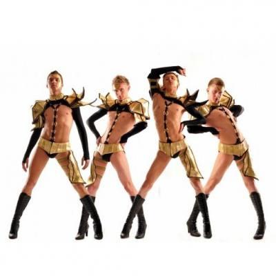 Мужской эпатажный fashion ballet Persona P - Концертное агентство Империя Звезд